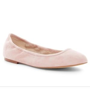 Sam Edelman Fritz Nude Leather Flats